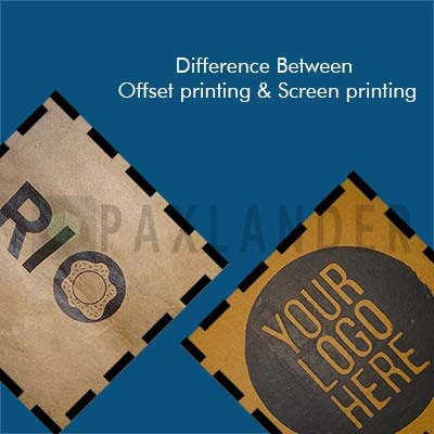 Difference between Screen Printing and Offset Printing