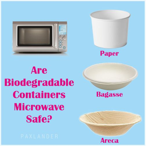 Are Biodegradable Containers Microwave Safe?