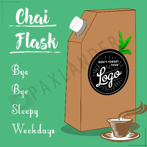 Disposable Chai Flask. The Only Tea Packaging You Need