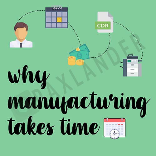 Why manufacturing takes time