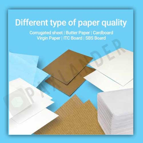 Different Type of Paper Quality